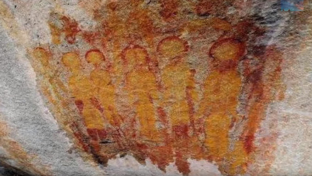 La NASA investigará pinturas prehistóricas de ovnis y alienígenas en la India