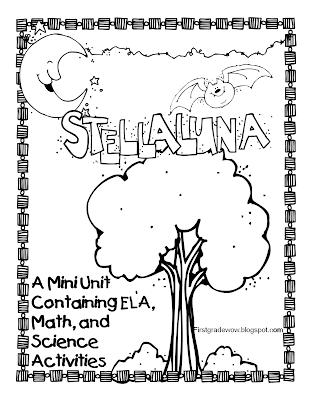 First Grade Wow: Stellaluna Saves the Day! (and the week!)