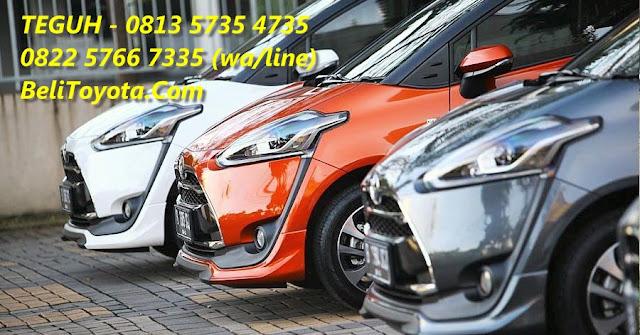 Perbedaan Fitur Antar Varian Toyota All New Sienta E, G, V, Q