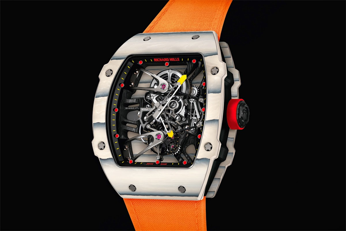 Richard Mille Tourbillon Rm 27 02 Rafael Nadal Time And Watches The Watch Blog