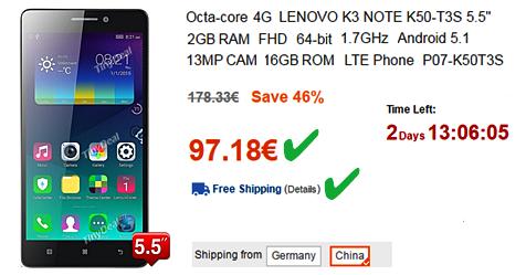 Οκταπύρηνο 4G Lenovo, FHD, 16GB