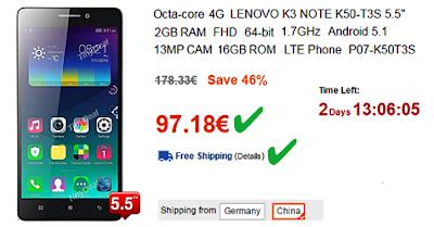 Ευκαιρία! Οκταπύρηνο 4G Lenovo, FHD, 16GB