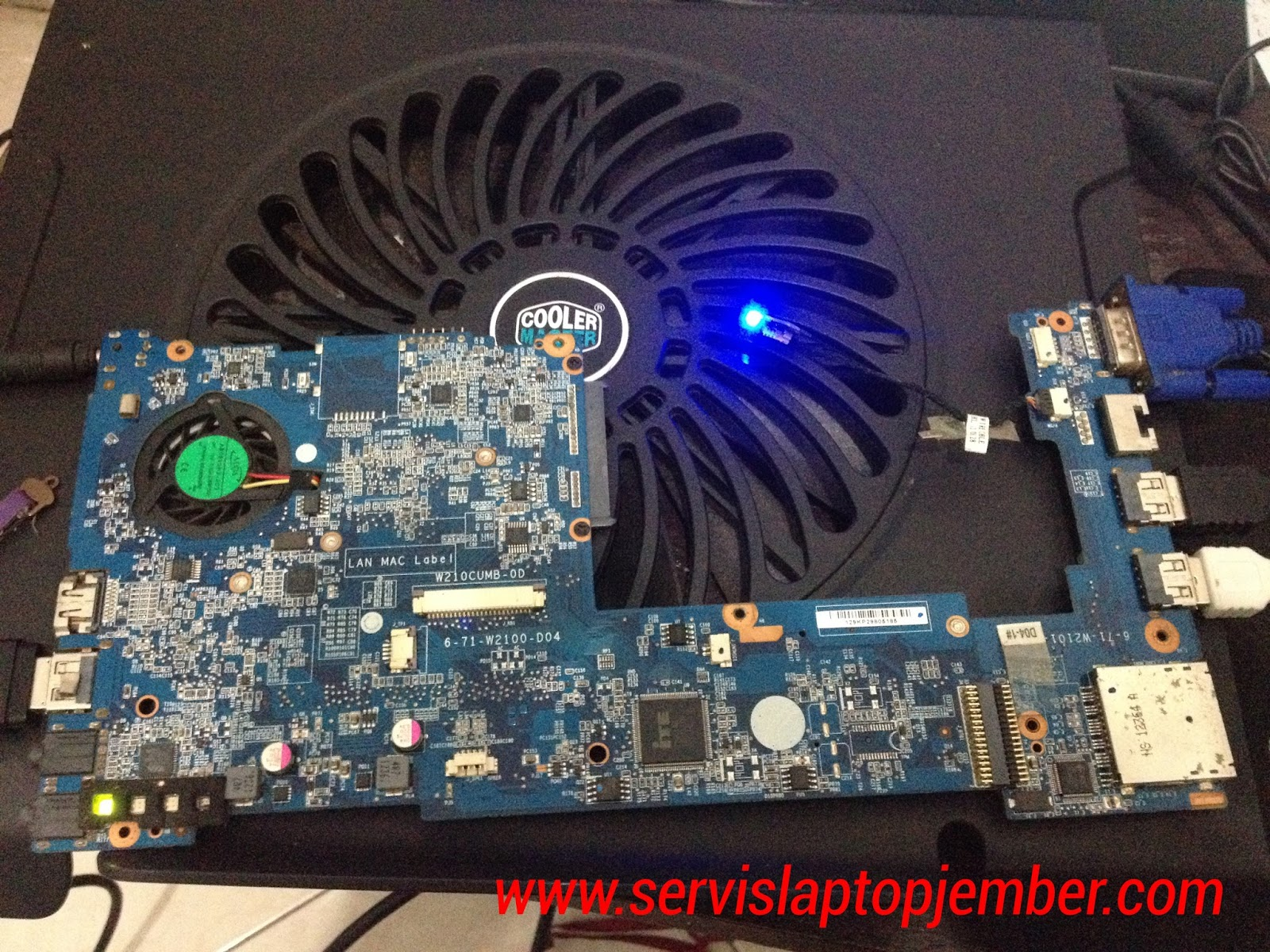 Jual Mainboard Axioo Pico CJM Processor and HSF