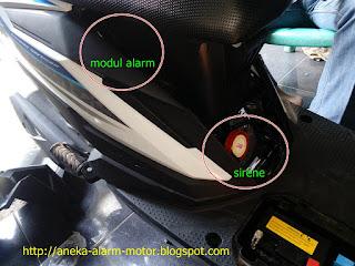 Cara pasang alarm motor remote pada Honda Beat ESP ISS