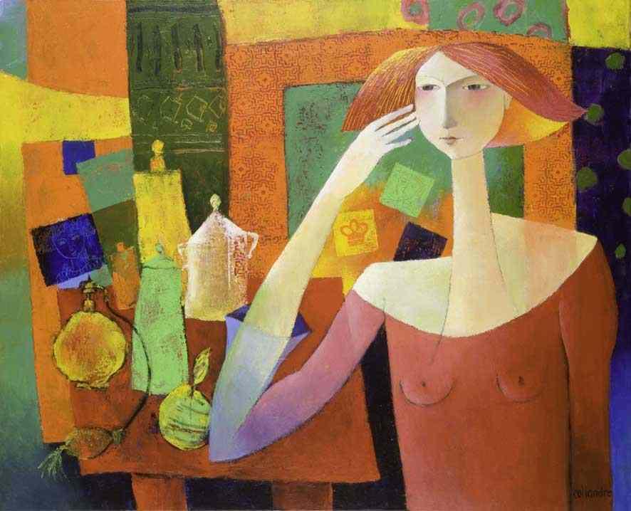 Françoise Collandre ~ figurativo livre