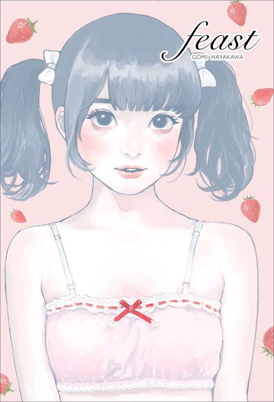 Mayu Yukishita Ilustrasi Gadis di Bawah Salju
