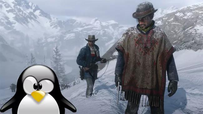 Red Dead Redemption 2 rodando melhor no Linux do que no Windows 10