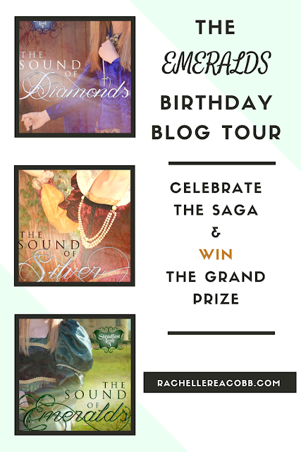 """The Sound of Emeralds"" Birthday Blog Tour by Rachelle Rea Cobb"
