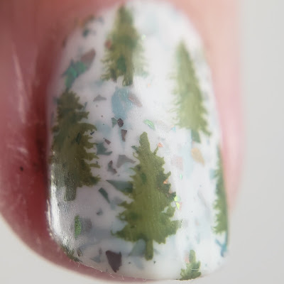 kbshimmer, ill be chrome for christmas, clear jelly stamper
