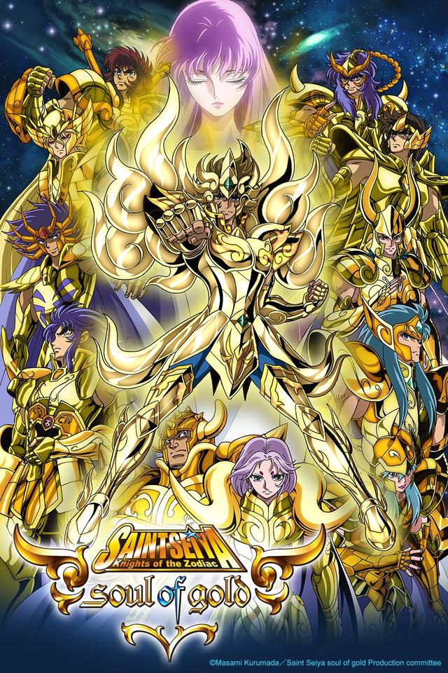 Caballeros del Zodiaco: Alma y Oro HDTV  Japones/Subtitulado