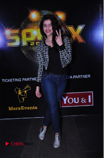 Actress Mannara Chopra Stills in Jeans at Sparx 2017 Curtain Raiser Event  0194.JPG