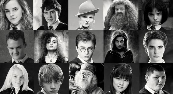 Resultado de imagem para personagens harry potter