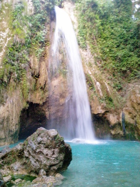Fun and Adventure in Inambakan Falls in Ginatilan Cebu