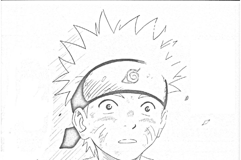 Imagens Para Colorir De Naruto: Desenhos Para Colorir : Naruto Para Colorir