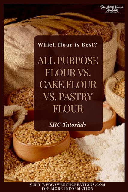 WHICH FLOUR IS BEST? – ALL PURPOSE FLOUR vs. CAKE FLOUR vs. PASTRY FLOUR