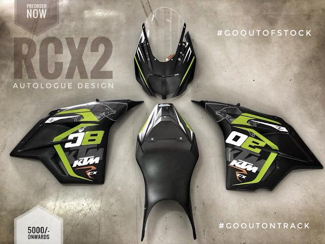 autologue design KTM RCX2 Price
