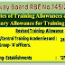 7th CPC Revision of Training Allowane and abolition of Sumptuary Allowance for Training Institutes - Railway Board (RBE No. 145/2017)