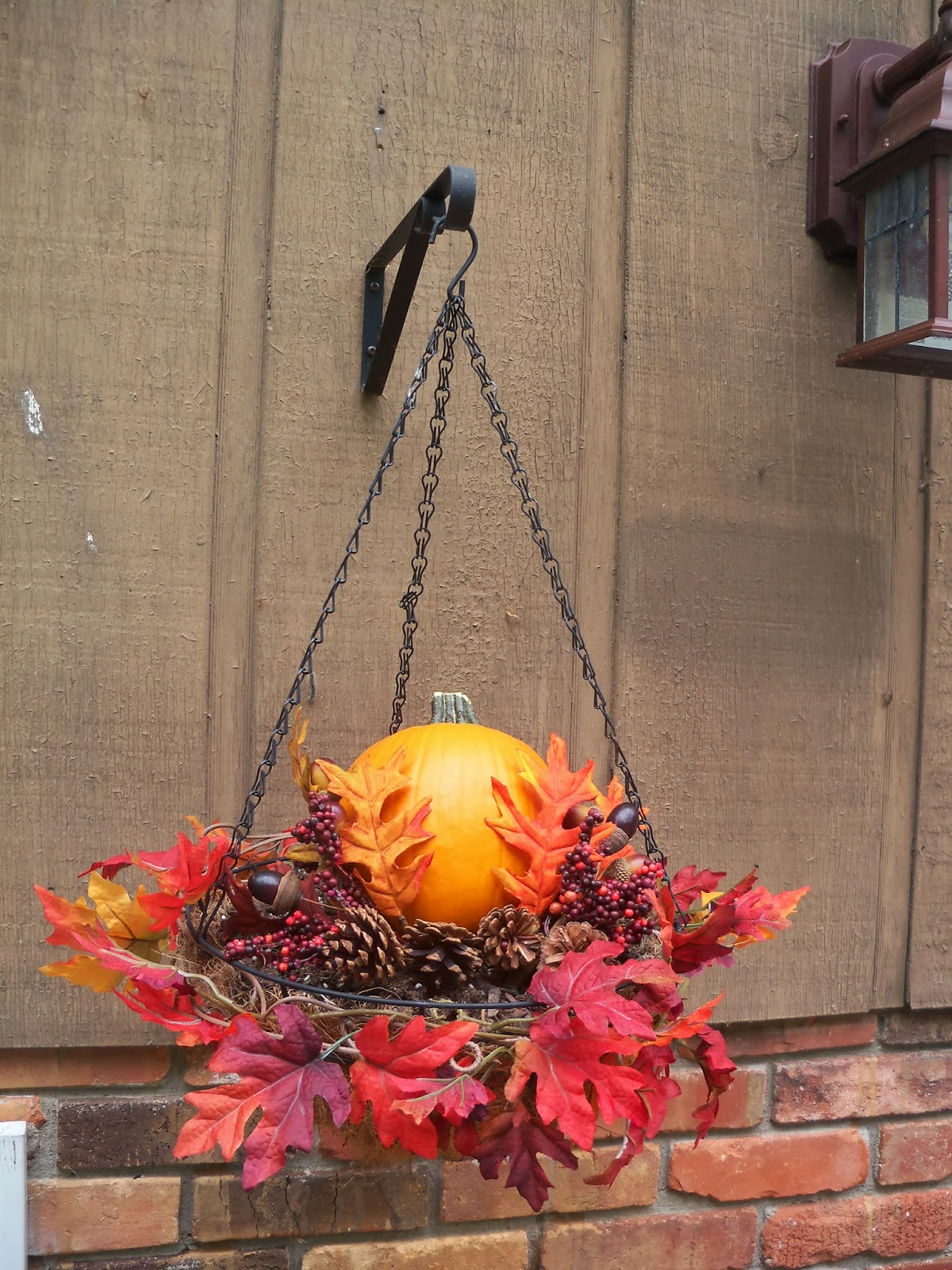 This Is My Day Job Autumn Hanging Basket