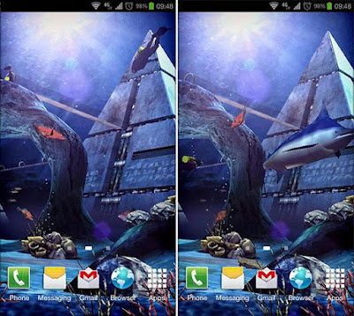 Atlantis 3D Pro Live Wallpaper v1.4 Apk