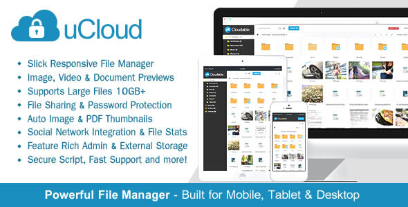 Free Download uCloud File Hosting PHP Script