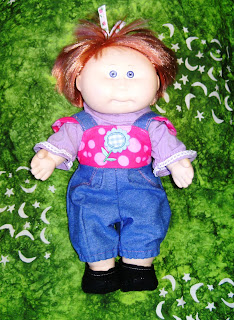 Doll's dungarees