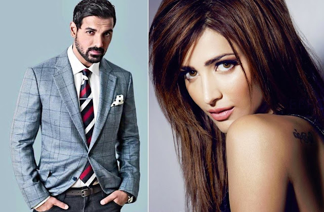Shruti Haasan paired opposite John Abraham in 'Welcome Back'