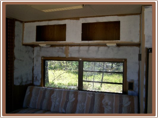 I Started By Removing All The Cabinet Doors And Painting The Walls And  Cabinets With A Good Primer.
