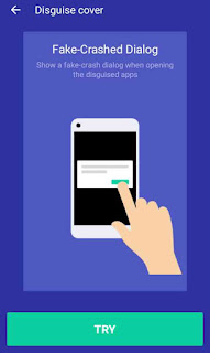 Mobile app me fake crash dialog box set kaise kare 7