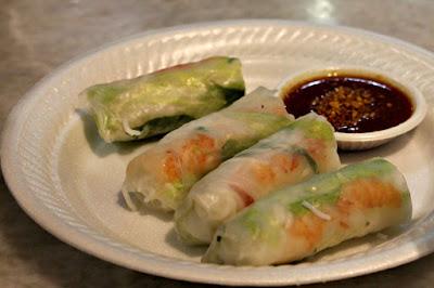 Vietnamese Roll at Lau Pa Sat