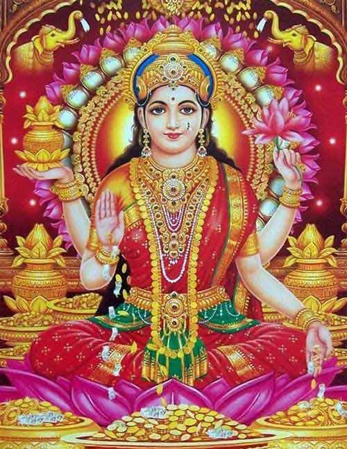 Goddess Soundarya Lakshmi - Goddess Of Beauty