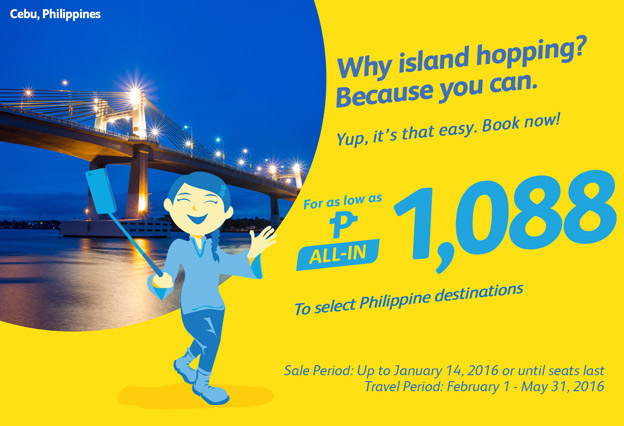 Cebu Pacific Summer Promo 2016