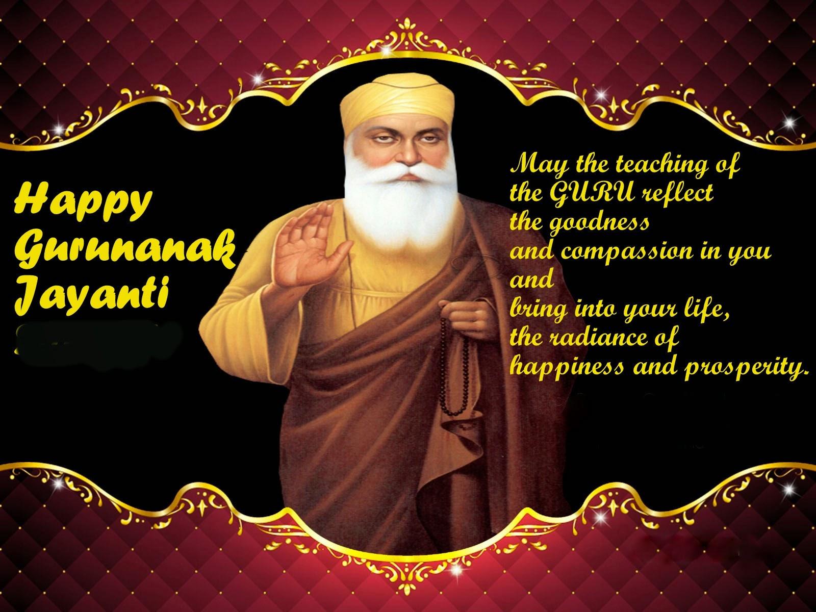 Image result for gurunanak jayanti english wishes
