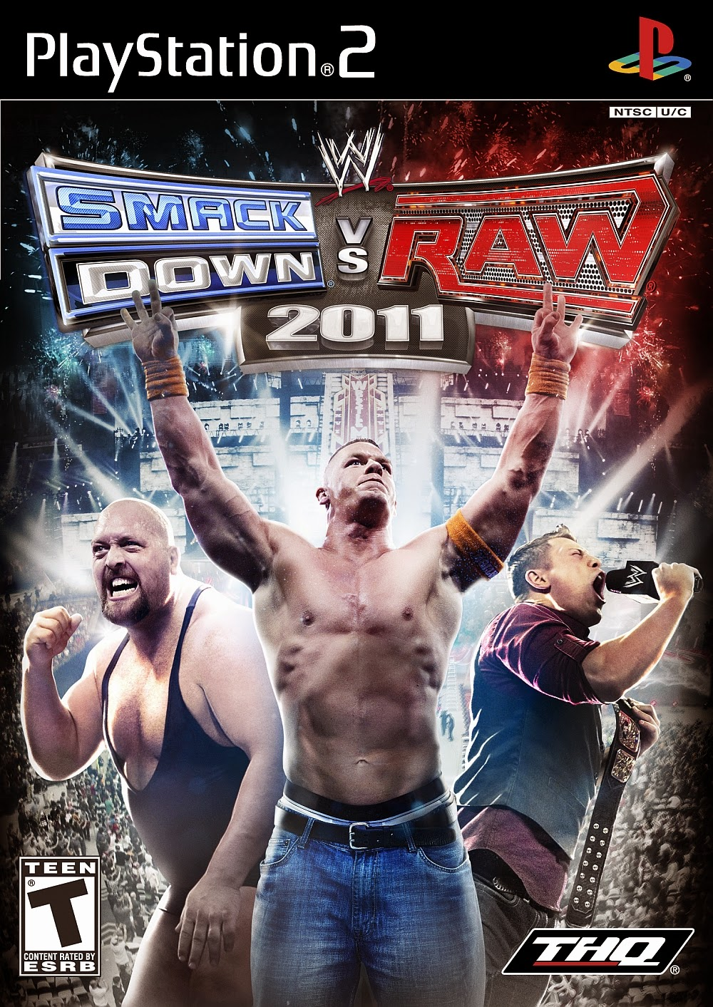 wwe smack down vs raw 2011 Ps2 Iso www.juegosparaplaystation.com