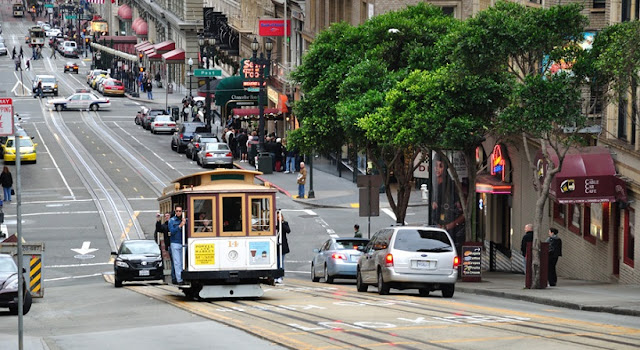 Viagem de carro de San Francisco à Santa Mônica