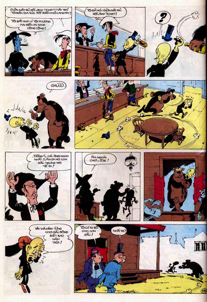 Lucky Luke tập 21 - sợi dây biết hát trang 27