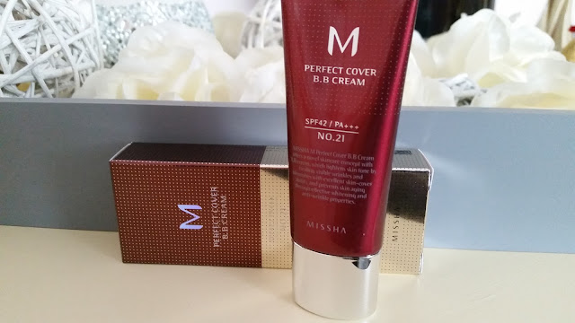 MISSHA M Perfect Cover BB Cream recenzja