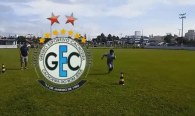 TV GEC apresenta os trenamentos da base tricolor