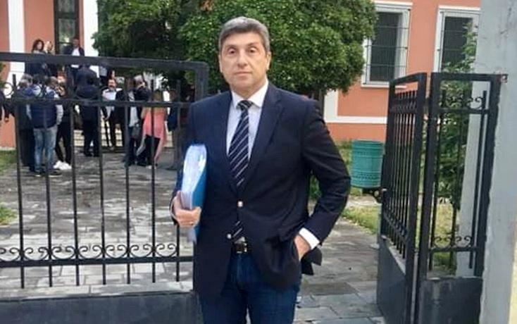 Κατάθεση του ψηφοδελτίου της ΑΝΑΣΑ του υποψήφιου Δημάρχου Αλεξανδρούπολης Παύλου Μιχαηλίδη