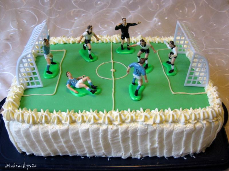 Jalkapallokenttä Kakku