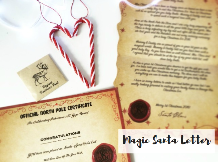 magic santa letter review discount code all things amy