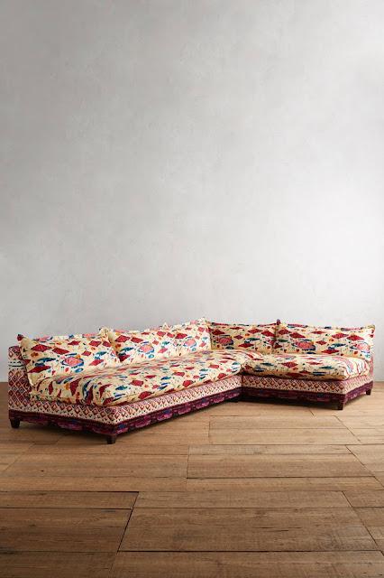 Anthropologie Medina Tassa Sectional Sofa
