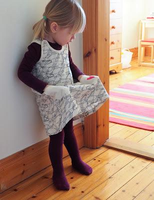 Pupuset mekko, pupumekko, KUI Design