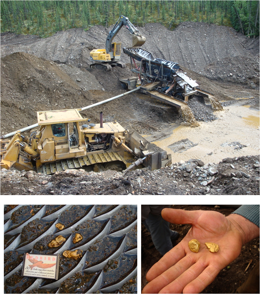 Small Gold Mining Dredges : Geo gold emmons rush yukon some photos from my visits