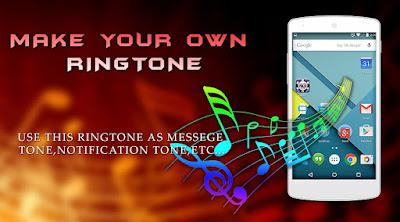 ဖုန္ထဲမွာ Ringtone ေလးေတြဖန္တီးနိုင္တဲ့ - Ringtone Maker v1.0.7 (Ad Free)