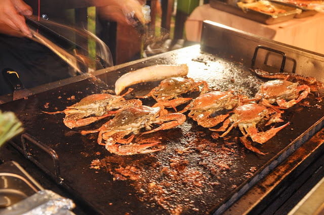Buffet Ramadhan in Spring Garden Restaurant, Putrajaya, spring garden halal restaurant, halal chinese food, seafood restaurant putrajaya, buffet ramadhan murah, buffet ramadhan banyak seafood, buffet ramadhan under RM100, buffet ramadhan under RM90,sajian nostalgia kampung, grill crab,