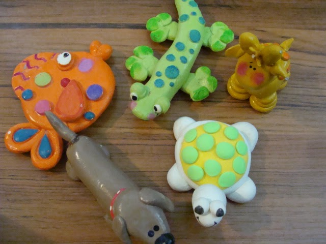 Craft ideas with clay for kids creative art and craft ideas for Air dry clay crafts