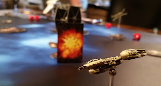 FF Star Wars X-Wing Miniatures Game Magnet ball and gimbel Y-Wing
