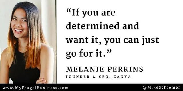 Melanie Perkins Quotes