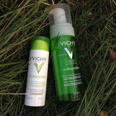 Vichy Normaderm Cleansing Mattifying Foam Cleanser
