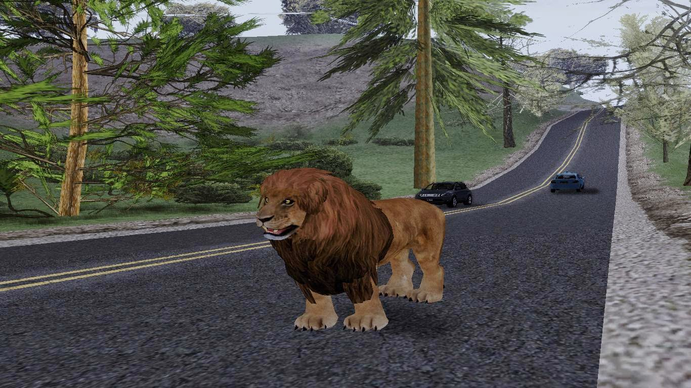 Lion Skin Gta San Andreas